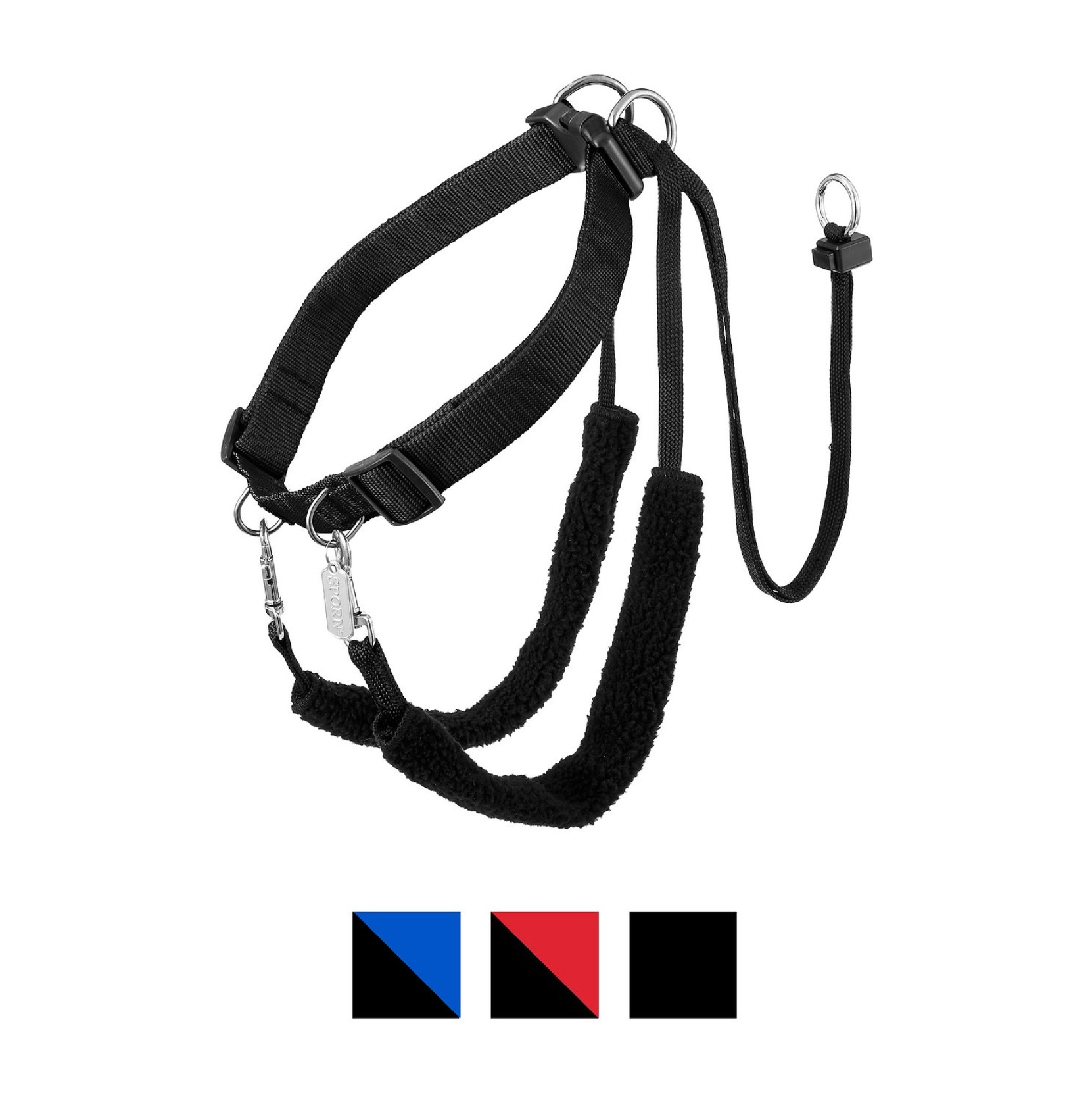 Sporn-Training-Halter-Nylon-No-Pull-Dog-Harness