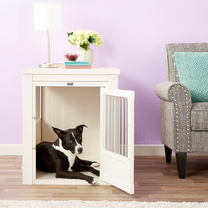 New-Age-Pet-ecoFLEX-Single-Door-Furniture-Style-Dog-Crate-&-End-Table